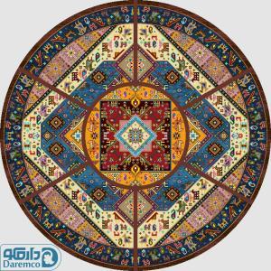 حوض قشقائی - رویه مبل سنتی هفت تیکه 6 نفره