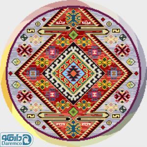 مَینا - رویه صندلی سنتی دایره