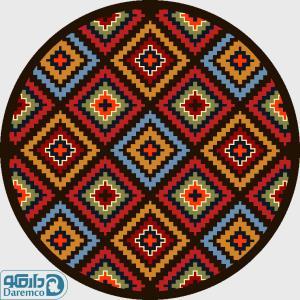 52214 لوزی های رنگین - دایره