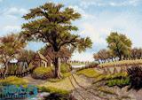 کلبه کنار مزرعه