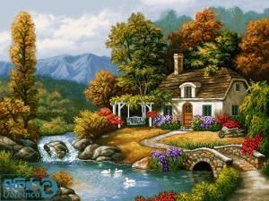 جنگل و کوه و رودخانه