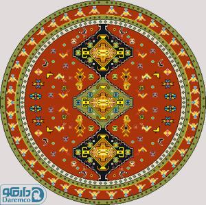 هندسی 1 درشتبافت- دایره بزرگ