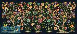 درختچه گل و پرنده 7(بالشت کوچک 7)