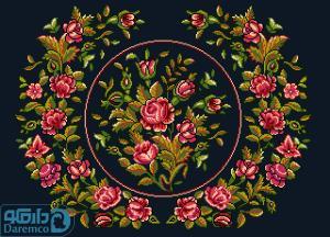 بوته گل های رز 8(بالشت بزرگ 8)