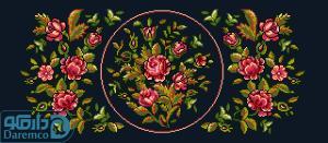 بوته گل های رز 7(بالشت کوچک 7)