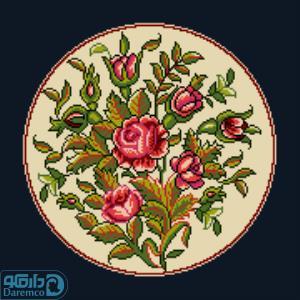 بوته گل های رز 6(کوسن بزرگ 6)