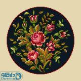 بوته گل های رز 5(کوسن بزرگ 5)
