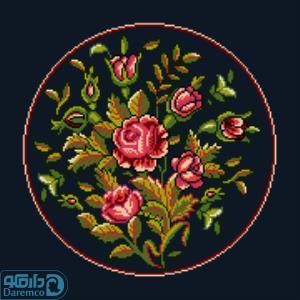 بوته گل های رز 4(کوسن بزرگ 4)