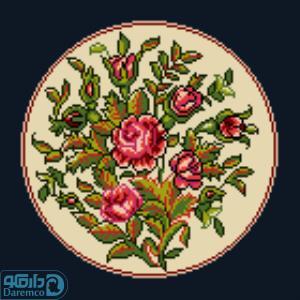 بوته گل های رز 3(کوسن کوچک 3)