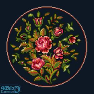 بوته گل های رز 1(کوسن کوچک 1)