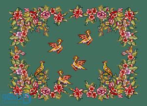 پرندگان و بهار 8(بالشت بزرگ 8)