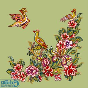 پرندگان و بهار 6(کوسن بزرگ 6)