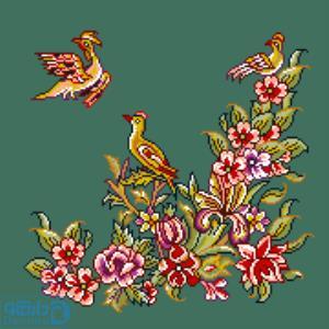 پرندگان و بهار 4(کوسن بزرگ 4)