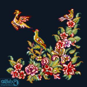 پرندگان و بهار 2(کوسن کوچک 2)