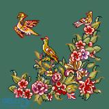 پرندگان و بهار 1(کوسن کوچک 1)