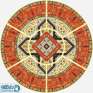 قشقائی 1 - رویه مبل سنتی هفت تیکه 6 نفره